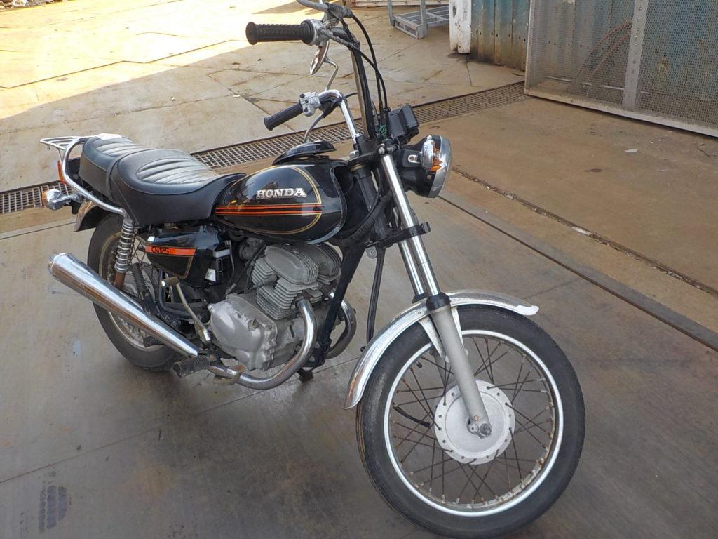 小型バイク