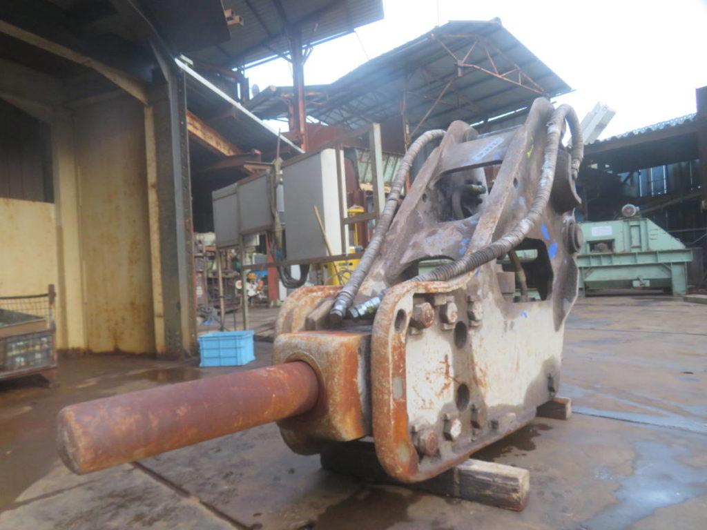 油圧ブレーカー オカダアイヨン