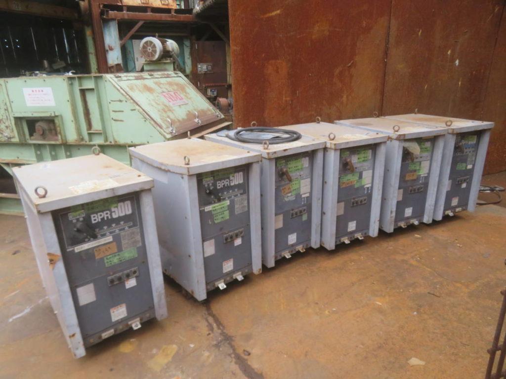 6台セット 交流アーク溶接機