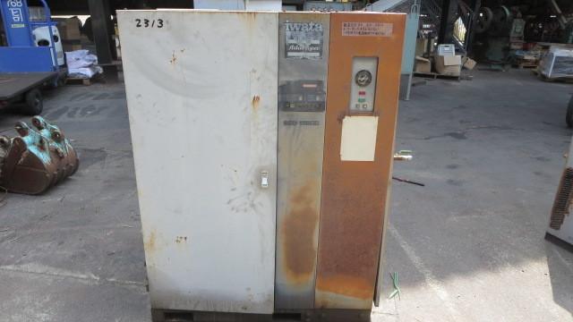 油谷№2313 エアーコンプレッサー スクリューコンプレッサー