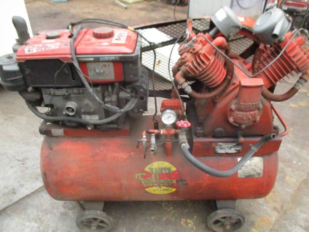 油谷№8251② エンジン式 エア―コンプレッサー
