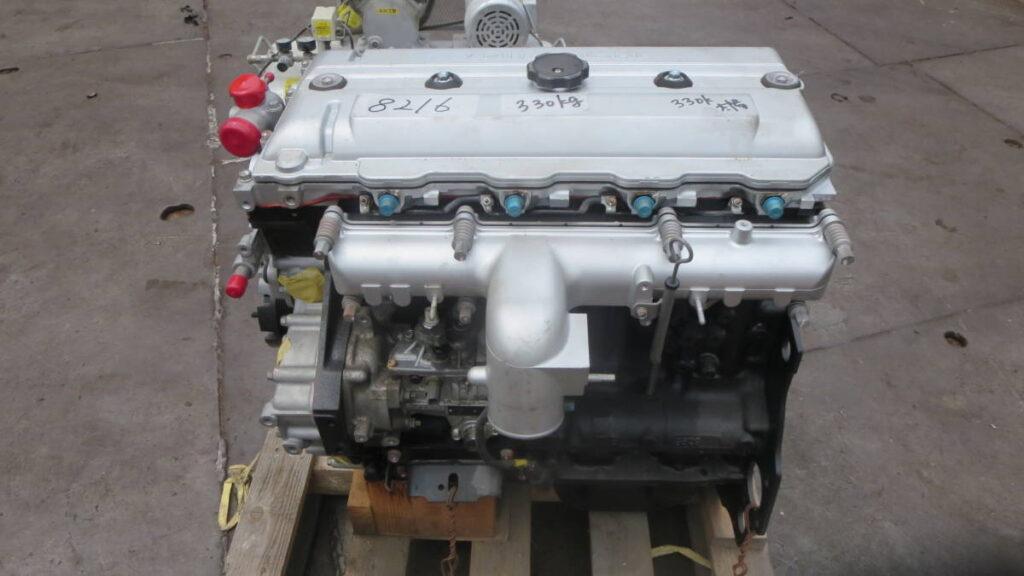 油谷№8216② 三菱 ディーゼルエンジン 4M51 キャンター KC-FG508B