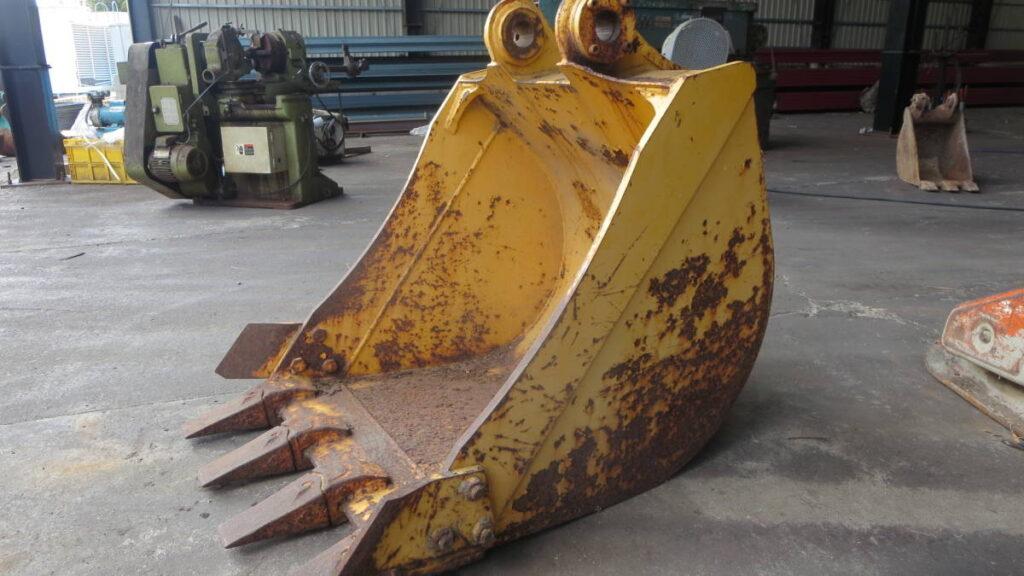 油谷№4749 ツメバケット 0.25立米 8トン ピン径50㎜ アーム幅190㎜