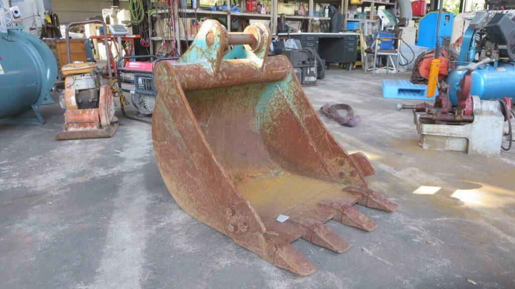 油谷№4751 ツメバケット 0.25立米 4トン ピン径45㎜ アーム幅146㎜