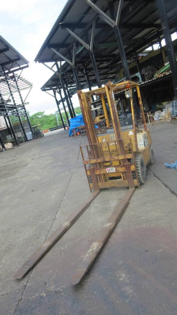油谷№4783 コマツ FG15-14 ガソリンエンジン4P フォークリフト 1.5トン