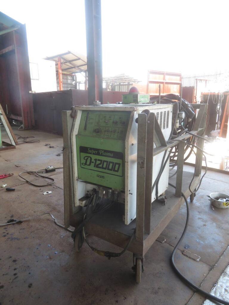 油谷№5646 ダイヘン TRC-120 エアープラズマカッター