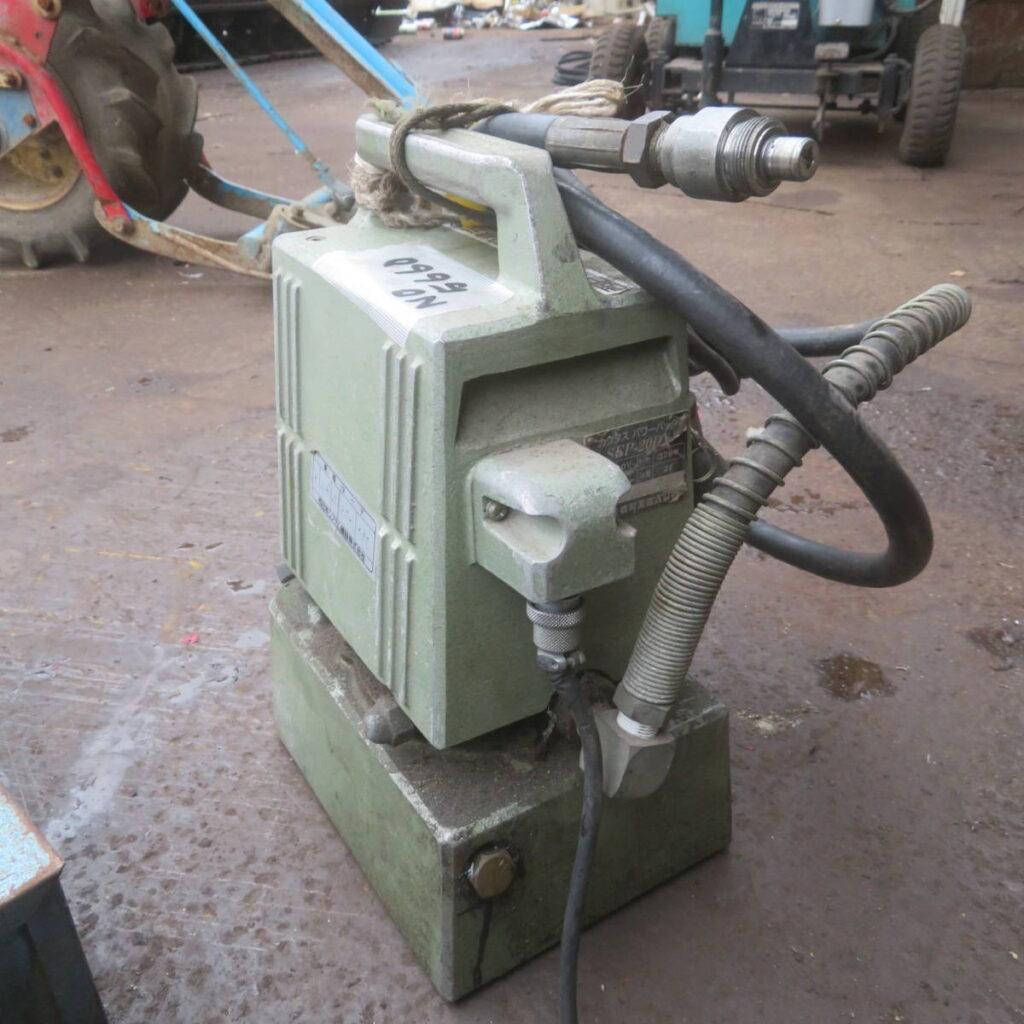 油谷№5660 油圧パンチャー 泉精器 SH-70