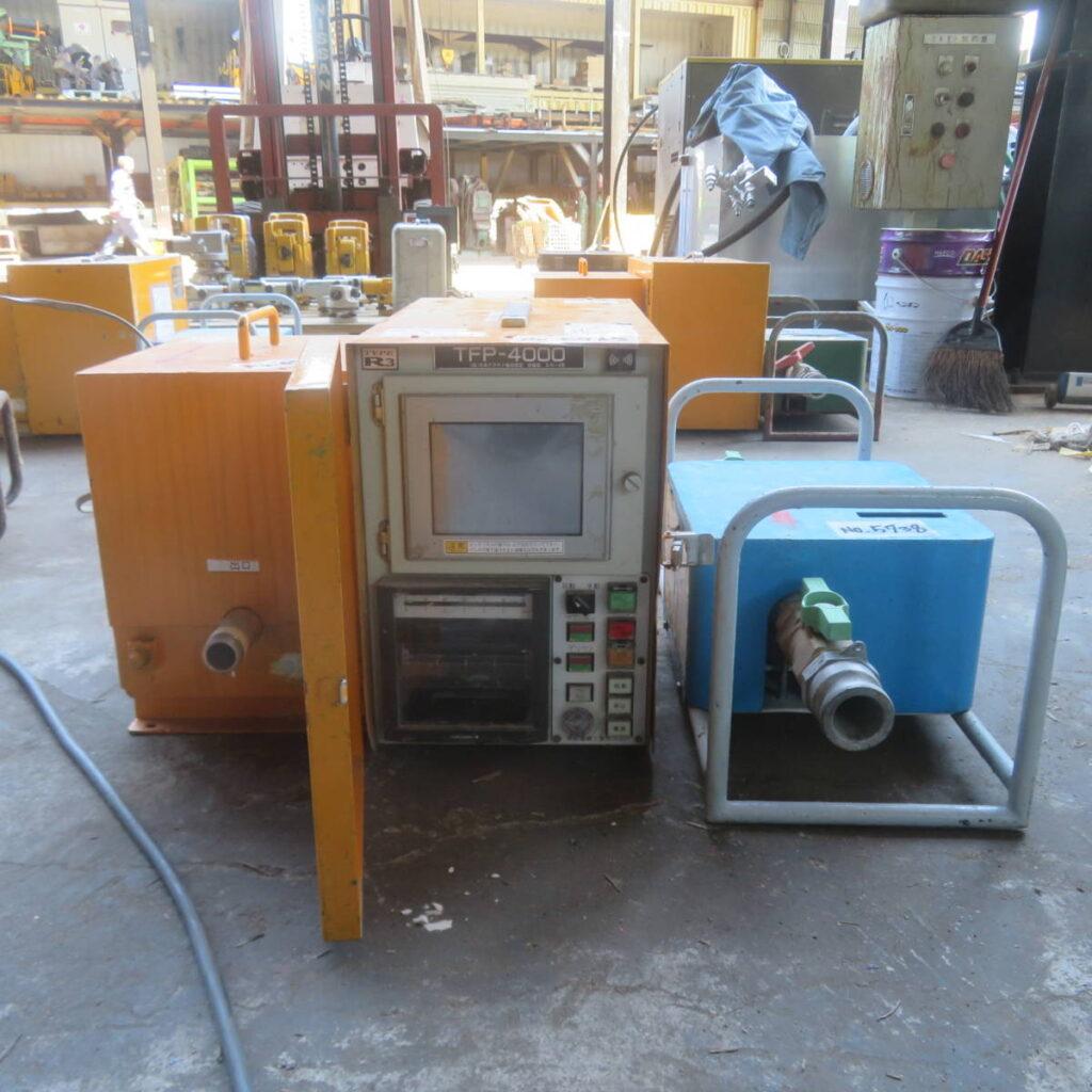 油谷№5738 流量圧力管理装置