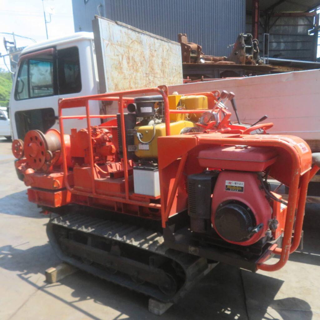 油谷№5800 ウインチ エンジン ロビン EY80