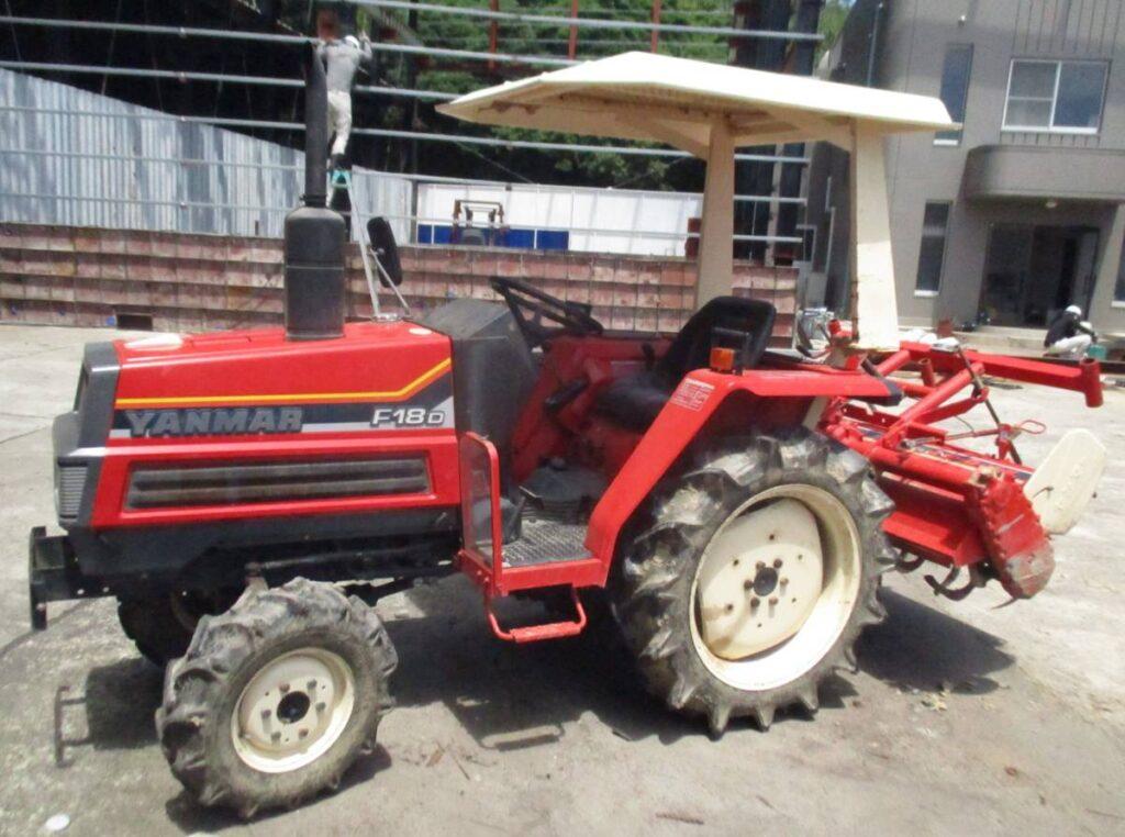 油谷№8679 ヤンマー トラクター F18D