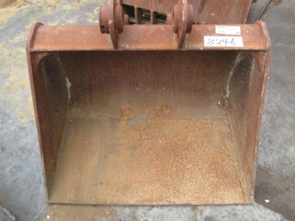 油谷№8246② 平バケット ピン径45㎜ アーム幅187㎜ バケット幅950㎜