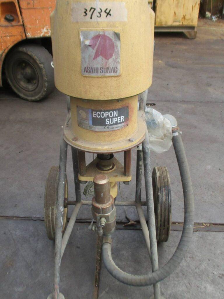 油谷№3734 ② ASAHI SUNAC Ecopon Super 塗装機