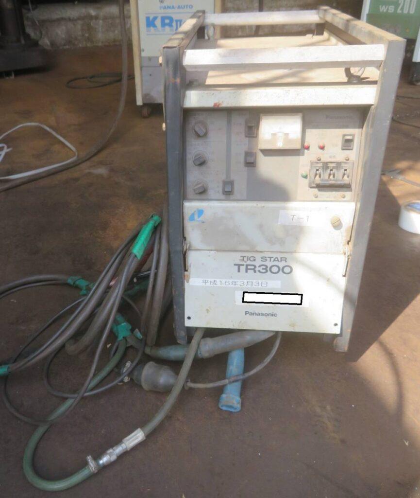 油谷№5893② インバーター制御 TIG溶接機 パナソニック YC-300TR5