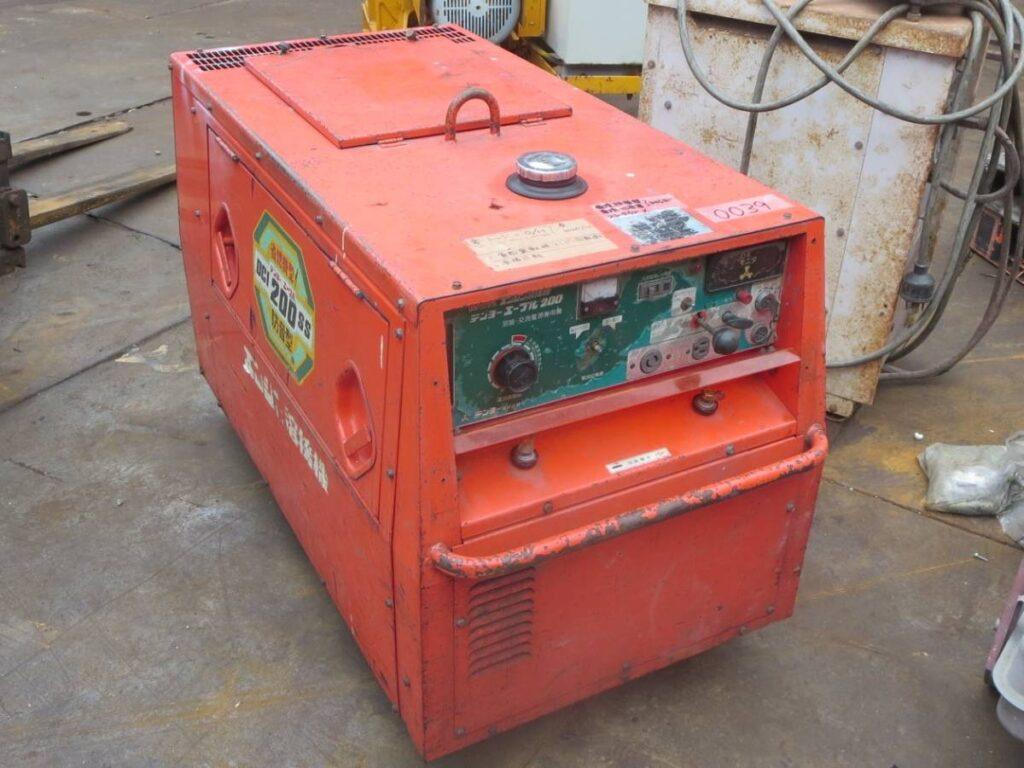 油谷№0039 デンヨー エーブル200SS ディーゼルエンジン アーク溶接機