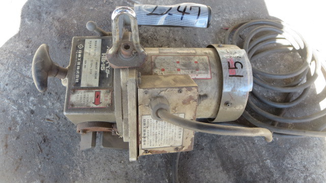 油谷№2247 ハンドベベラー 開先マシン 日東工器 HB-15