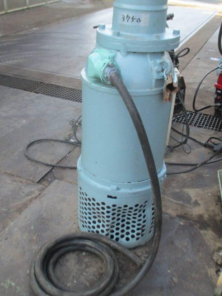 油谷№3750 ツルミポンプ サンドポンプ KRS1022