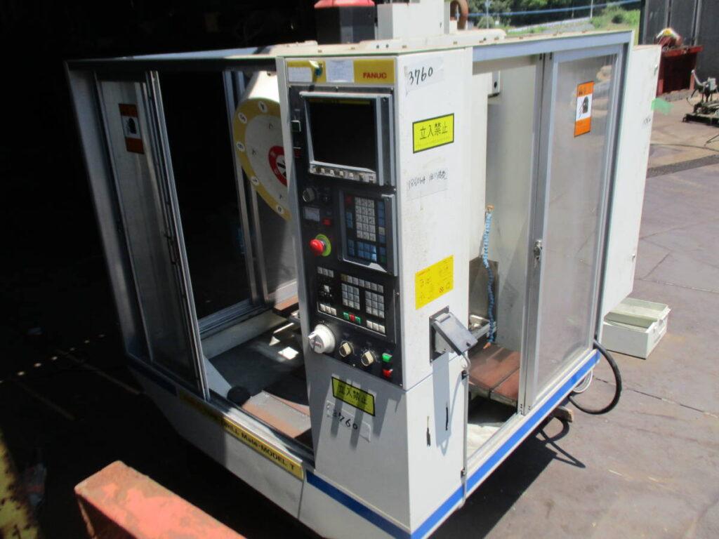 油谷№3760 工業高校の実習室から ファナック ドリルメイト モデルT マシニング ファナックO-M マシニングセンタ