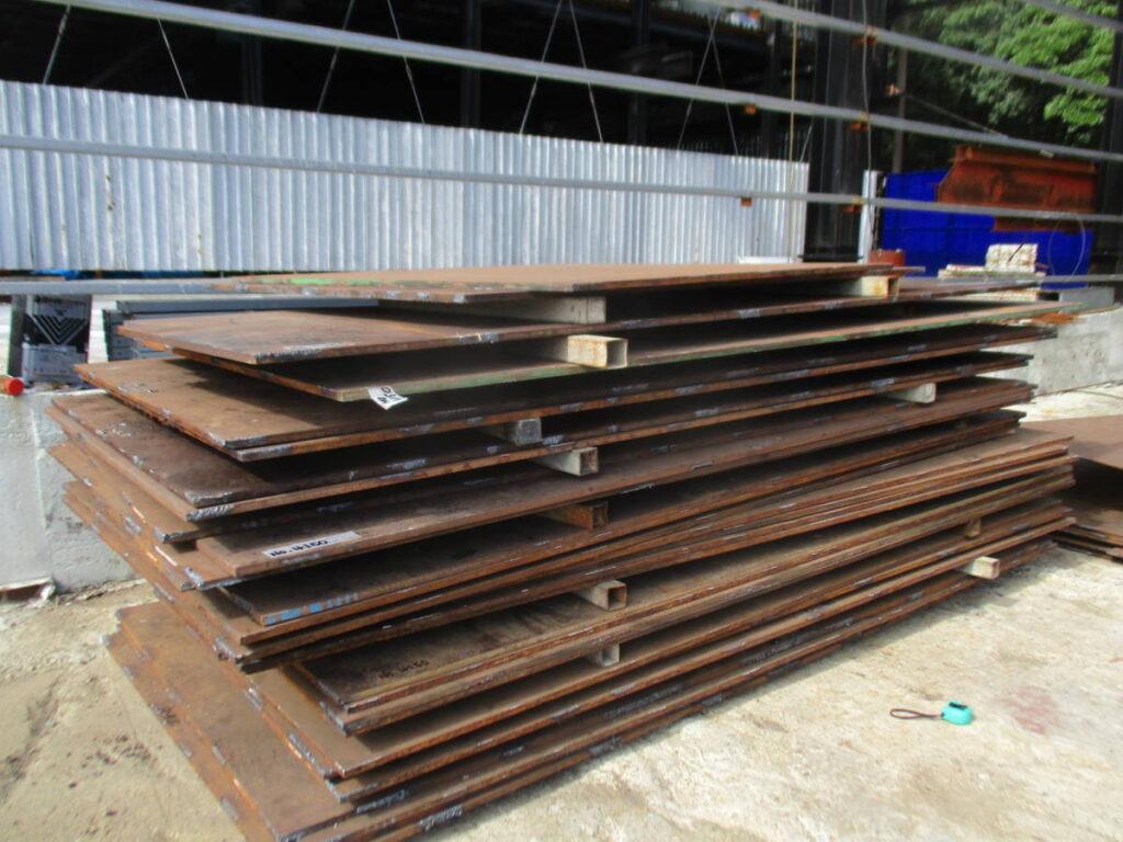 油谷№4150 鉄板 1530㎜×3060㎜ 厚み19㎜ 5尺×10尺