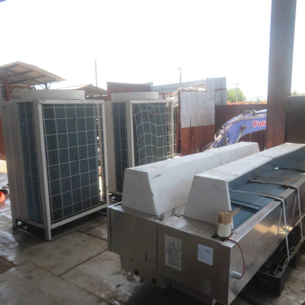 油谷№5643 コンデンシングユニット 冷凍機 日立 KX-R10A1