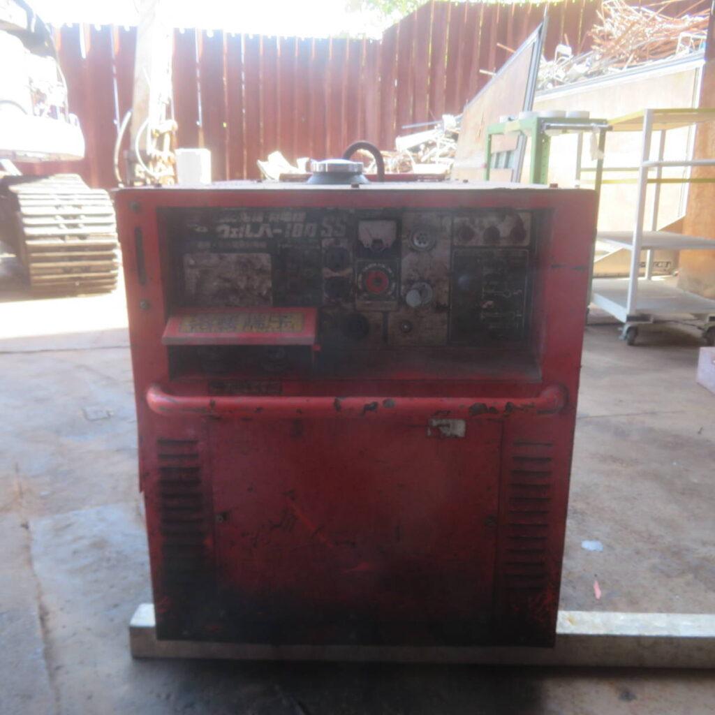 油谷№5648 デンヨー ウェルパー180SS ディーゼルエンジン アーク溶接機