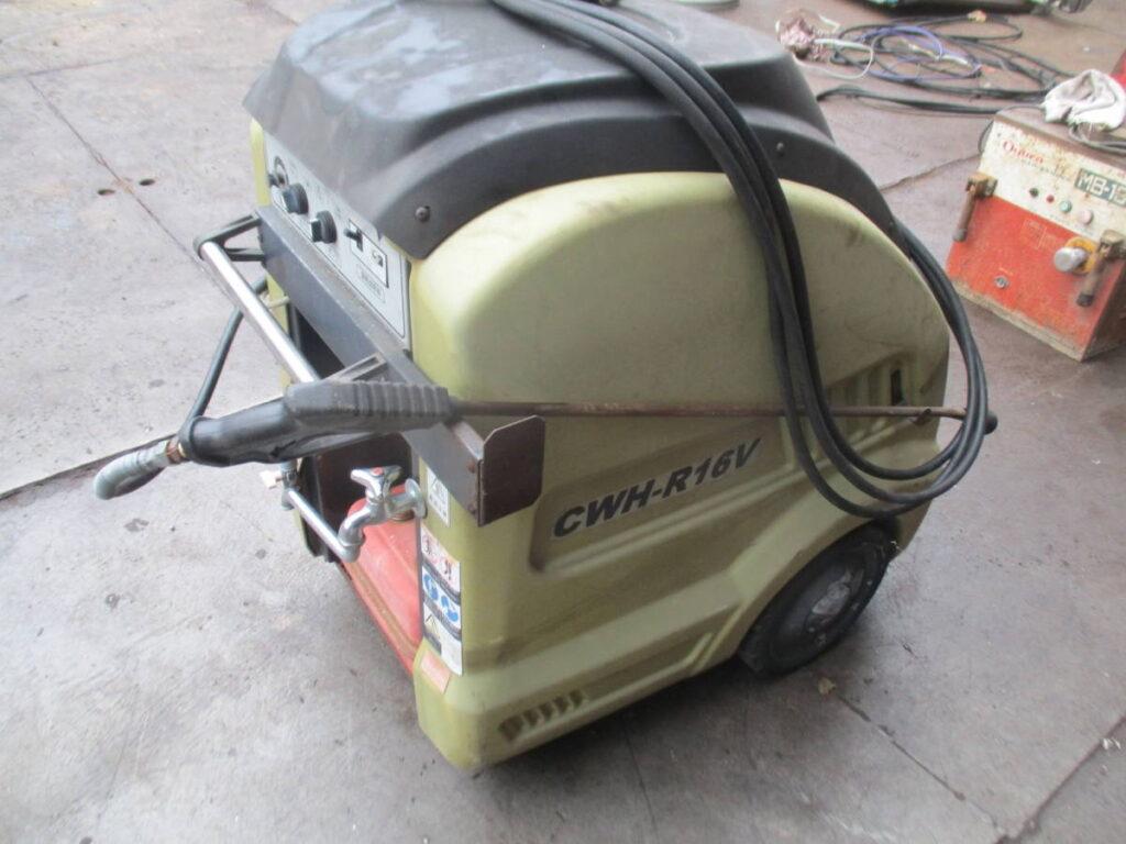 油谷№8089 バンザイ CWH-R16V 温水スチーム 高圧洗浄機