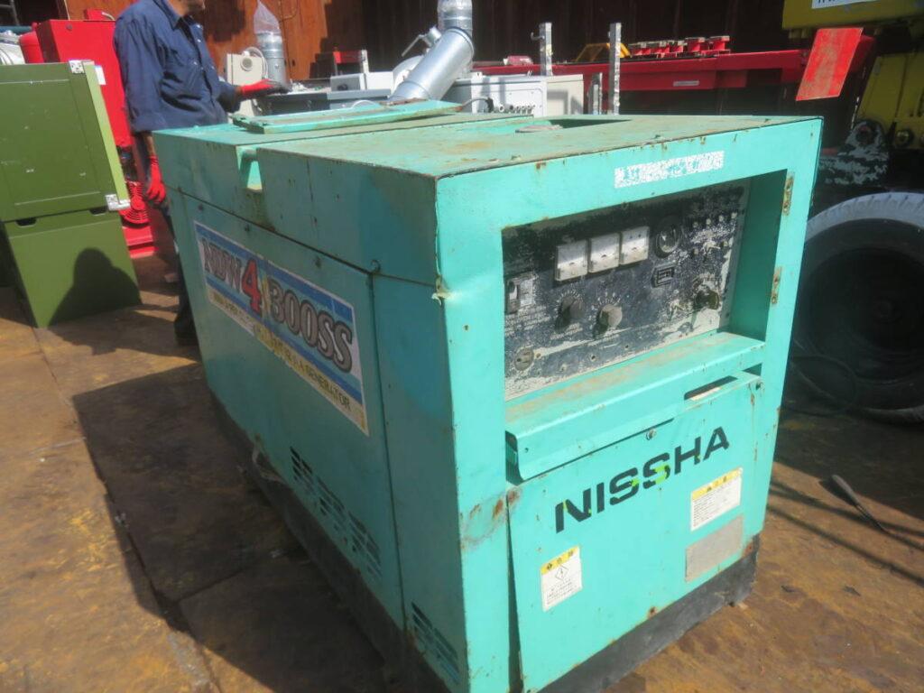 油谷№9197 NISSHA NDW4 300SS エンジンウェルダー