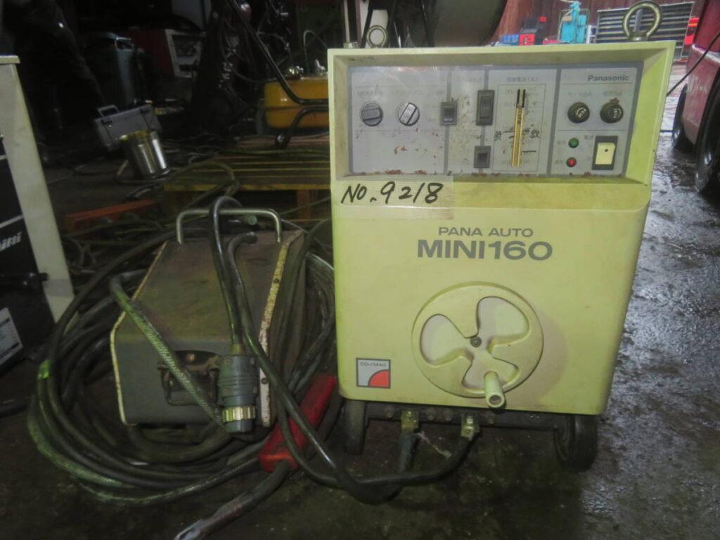 油谷№9218 半自動溶接機 パナソニック パナオート ミニ160 YD-160R-5 CO2